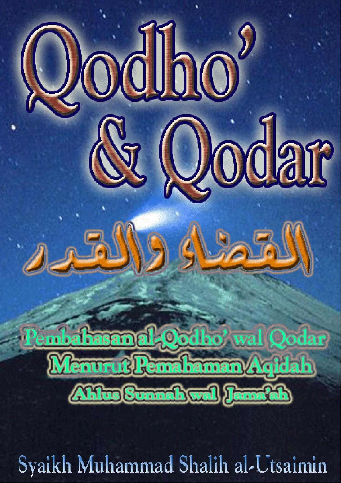 Hasil gambar untuk qadha qadar syaikh utsaimin