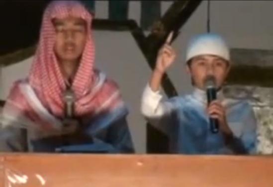 Ceramah anak arab